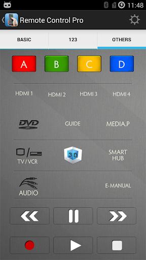 TV Remote Control Pro screenshot 3