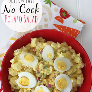 Quick & Easy No Cook Potato Salad