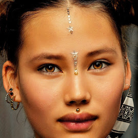 Face v by Deependro Karki - People Professional People