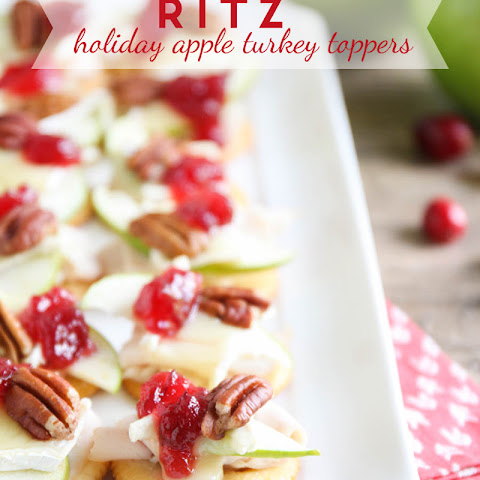 Ritz Holiday Apple Turkey Toppers