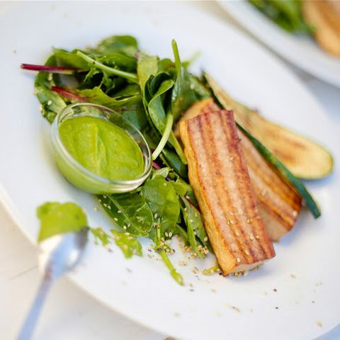 Grilled Tofu with Cilantro Pesto from the 10-Day Detox Diet