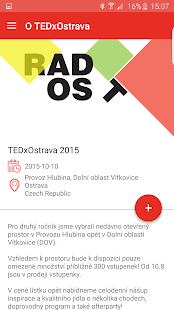 TEDxOstrava 2015 - screenshot