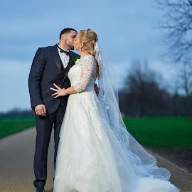 by John Siryana - Wedding Bride & Groom