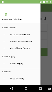 Economics Calculator screenshot for Android