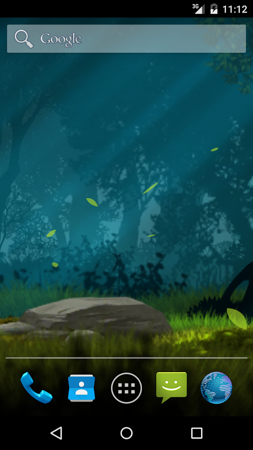 Magical forest live wallpaper Screenshot 1