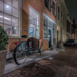 Evening shot by Henk Smit - Transportation Bicycles