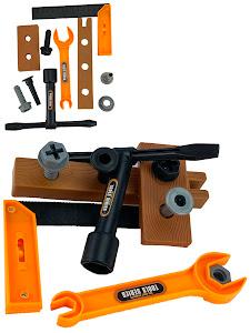 """Игровой набор серии """"Профессии"""", крепежный инструмент, оранжевый"""