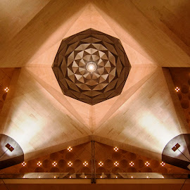 Interior of Museum of Islamic Art by Biman Sarkar - Buildings & Architecture Other Interior ( interior, ceiling, mia, doha, qatar, museum of islamic art,  )
