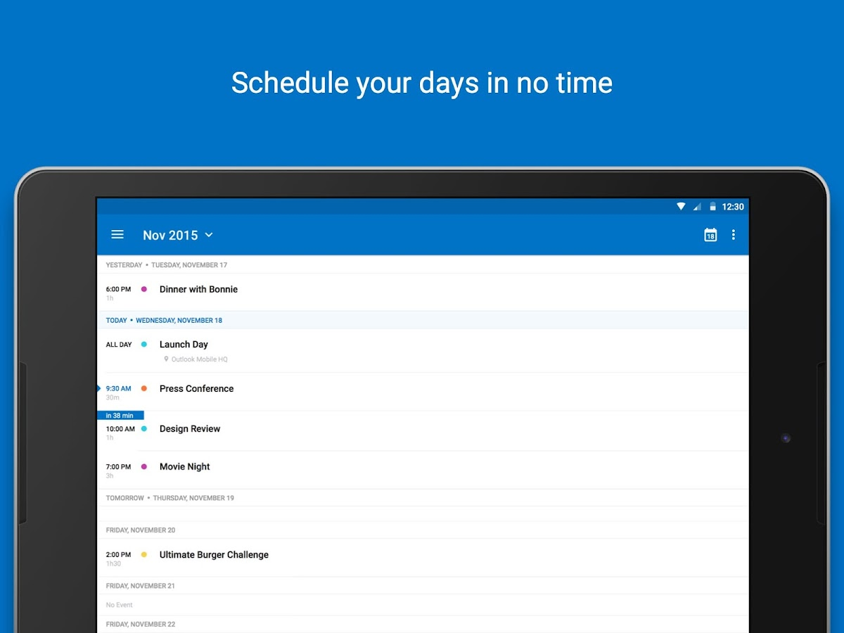 Microsoft Outlook Screenshot 10