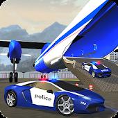 Polizei Flugzeug Transporter