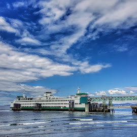 The Puyallup by Todd Reynolds - Transportation Boats