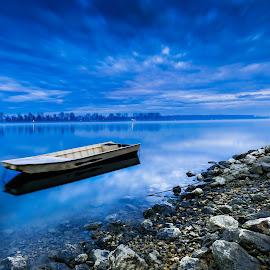 Danube.Dunav. by Darijan Mihajlovic - Landscapes Waterscapes