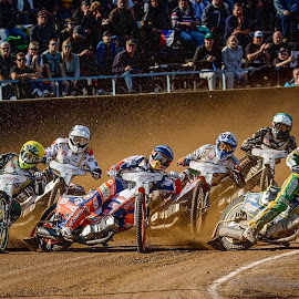 Hungries by Jiri Cetkovsky - Sports & Fitness Motorsports ( speedway, boys, action, sport, race, hungry )