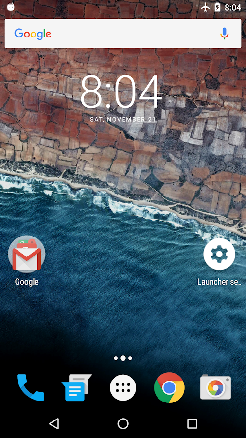 Marshmallow Launcher Screenshot 0