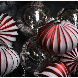 Christmas Ornaments  by Lorraine D.  Heaney - Public Holidays Christmas