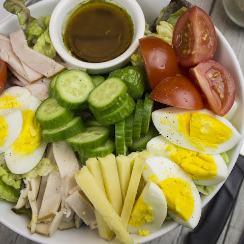 Fat-Burning Chef Salad