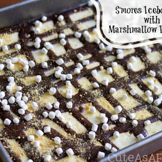 S'mores Icebox Cake with Marshmallow Ice Cream