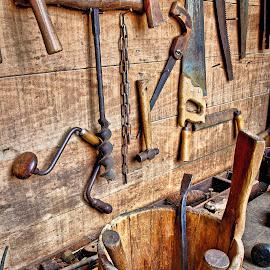 by Dragos Tranca - Digital Art Things ( tools, old, vintage )