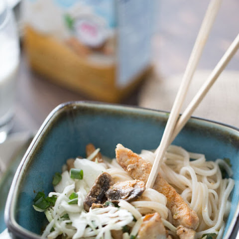 Coconut Curry Pork Noodle Bowl