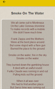 Deep Purple Lyrics - screenshot