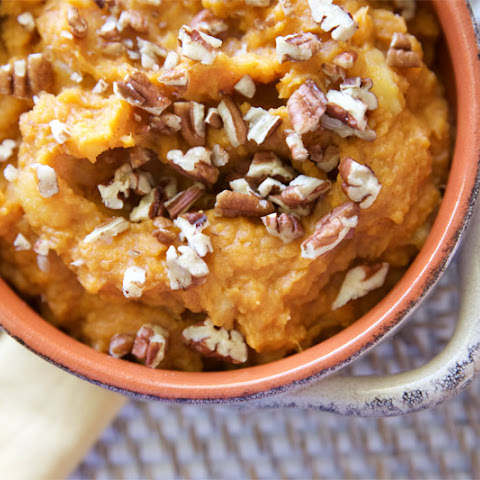 Honey-Sweetened Apple & Sweet Potato Mash