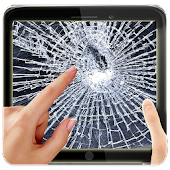 App Broken Screen Scare Crack Fake APK for Kindle