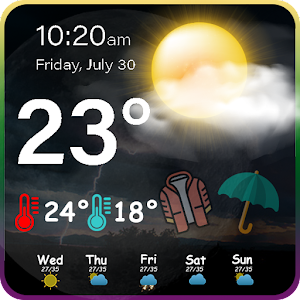 Accurate Weather - Live Weather Forecast Online PC (Windows / MAC)