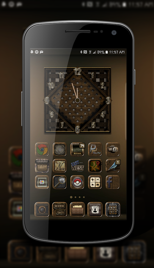 East Meets West Icon Theme Screenshot 0