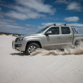 Amarok Action in the Dunes by Lanie Badenhorst - Sports & Fitness Motorsports ( #amarok, #sport, #transportation, #action )