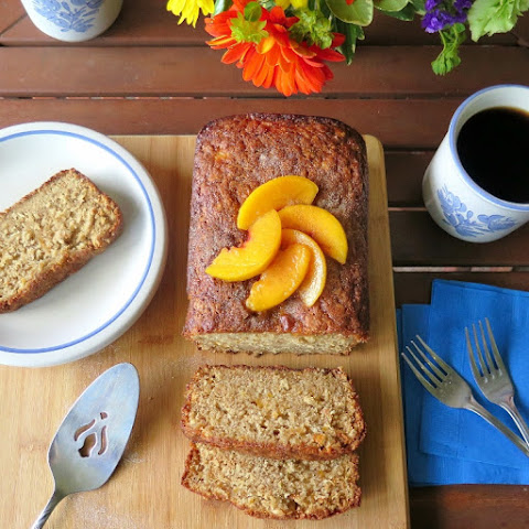 Spicy Peach Oatmeal Bread