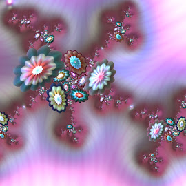 Flowers 12 by Cassy 67 - Illustration Abstract & Patterns ( abstract art, wallpaper, digital art, fractal art, harmony, flowers, fractal, digital, fractals, flower )