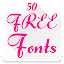 Download Fonts for FlipFont 50 #6 APK