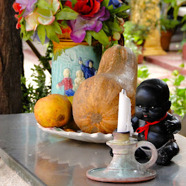 Little Black Baby by Sherri Hillman - Artistic Objects Other Objects