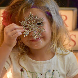 Snowflake by Mindi Baum-sherlin - Babies & Children Toddlers ( girl, indoor, one, christmas, snowflake, toddler, kid )