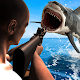 Underwater Angry Shark Hunting