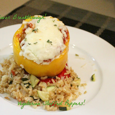 Vegetarian Stuffed Peppers!