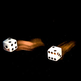 Deuces  by Anthony Balzarini - Artistic Objects Other Objects ( #dice #decues #hot #dice #lucky )