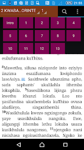 Xhosa Offline Bible - screenshot