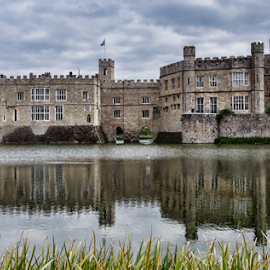 Leeds Castle (UK) by Gianluca Presto - Buildings & Architecture Public & Historical ( water reflection, leeds castle, historic, reflection, castle, old, united kingdom, water, house, ancient, home, architecture,  )