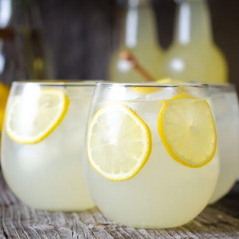 Fermented, Probiotic Honey Lemonade Soda