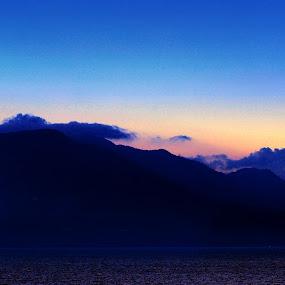 Toba Blue Mountain by Dian Manik - Landscapes Mountains & Hills ( danautoba, toba, landscape, photography, laketoba )