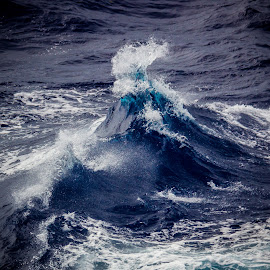 Ker-Splash by Mark Ritter - Nature Up Close Water ( water, splash, blue, waves, whitecaps, ocean, atlantic )