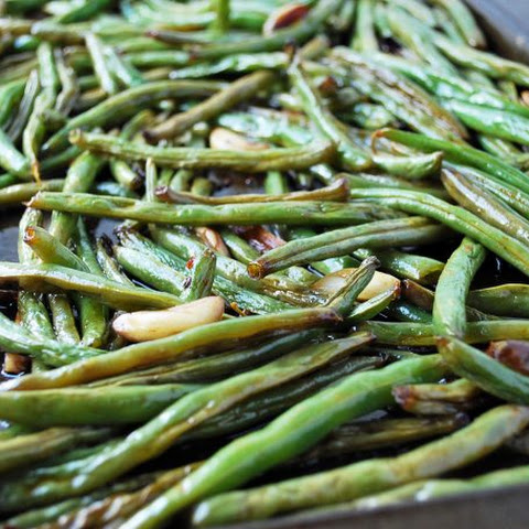 Slow-Roasted String Beans