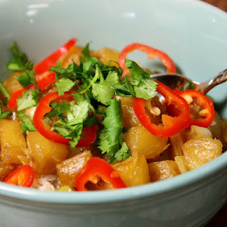 Pineapple Stir-fry With Coconut Rice