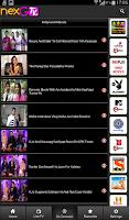 Screenshot of nexGTv HD:Mobile TV, Live TV