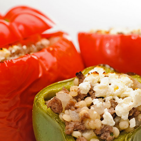 Mediterranean-Style Stuffed Peppers