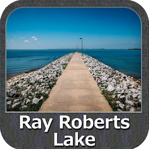Lake Ray Roberts Texas GPS Map For PC / Windows 7/8/10 / Mac – Free Download