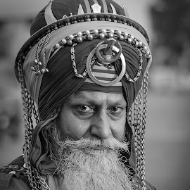 Nihang Singh by KP Singh - People Portraits of Men ( warrior, sikh, punjab, nihang, ludhiana )