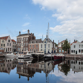Harbour by Lieven Lema - City,  Street & Park  Historic Districts ( goes, lieven lema, zeeland, wolphie )
