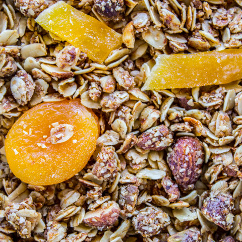Tropical Mango Coconut Granola